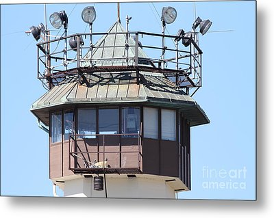 San Quentin State Prison In California - 7d18534 Metal Print by Wingsdomain Art and Photography