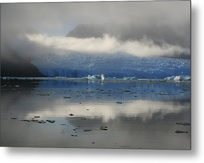 Metal Print featuring the photograph San Rafael Glacier by Laurel Talabere