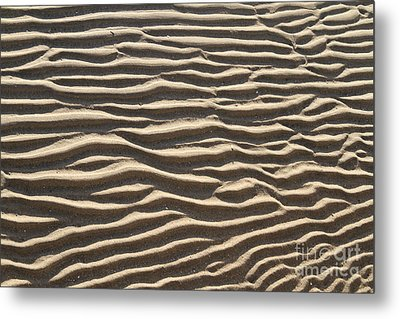 Sand Ripples Metal Print by Photo Researchers, Inc.