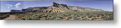 Metal Print featuring the photograph Sandstone Cliffs Escalante National Monument by Gregory Scott