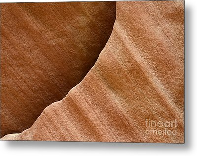 Sandstone Detail Metal Print by Bob Christopher