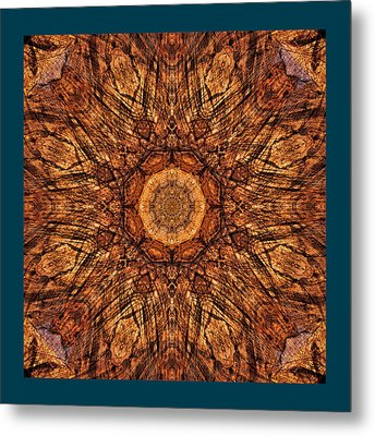 Sandstone Reflections Metal Print by Gregory Scott