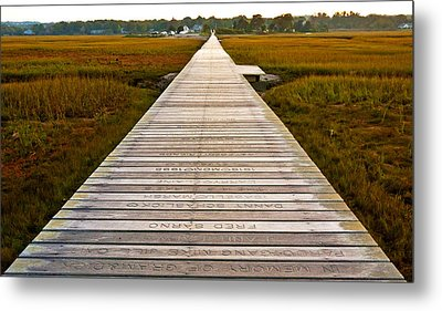 Sandwich Boardwalk Metal Print