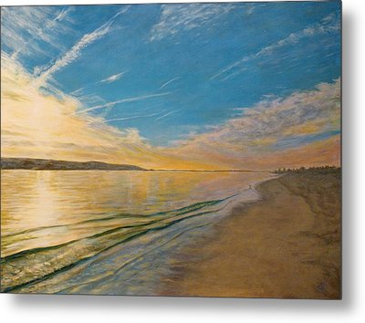 Sandy Hook Bay Metal Print