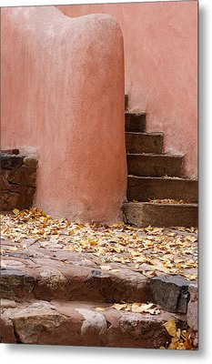 Santa Fe Adobe Metal Print by Denice Breaux