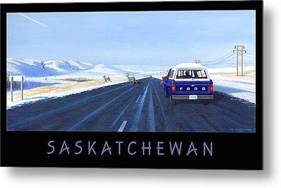 Saskatchewan Beauty Poster Metal Print
