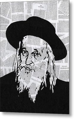 Satmar Rebbe Metal Print by Anshie Kagan
