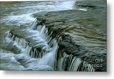 Sauble Falls Closeup Metal Print by Chris Hill