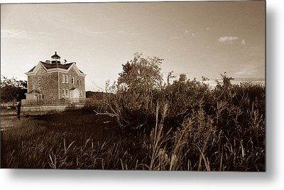 Saugerties Lighthouse Metal Print by Skip Willits