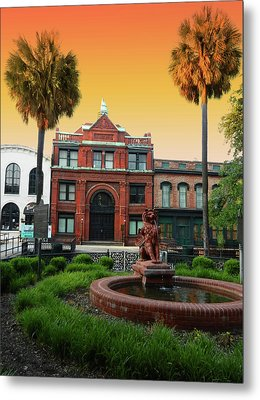 Metal Print featuring the photograph Savannah Cotton Exchange by Paul Mashburn