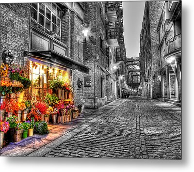 Say It With Flowers - Hdr Metal Print by Colin J Williams Photography