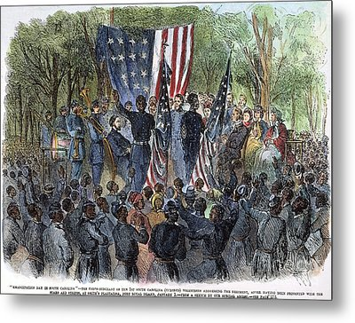 Sc: Emancipation, 1863 Metal Print by Granger
