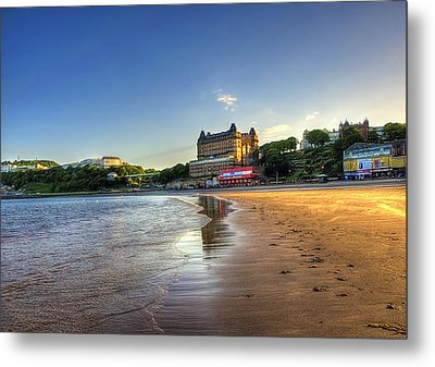 Scarborough Eve Metal Print by Svetlana Sewell