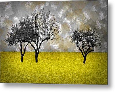 Scenery-art Landscape Metal Print by Melanie Viola