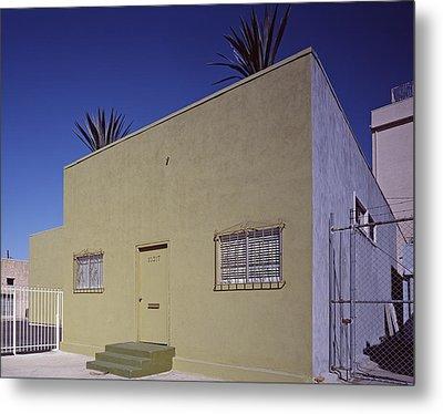 Scenes Of Los Angeles, A Nondescript Metal Print by Everett