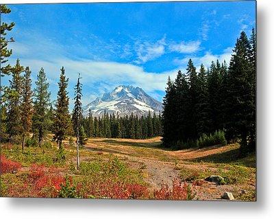 Scenic Mt. Hood In Oregon Metal Print by Athena Mckinzie