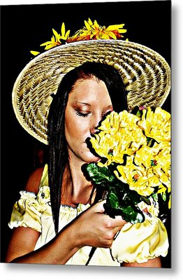Scent Of Summer Metal Print by Cindy Nunn
