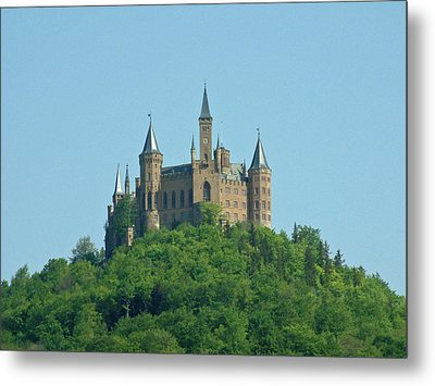 Metal Print featuring the photograph Schloss Hohenzollern Germany by Joseph Hendrix
