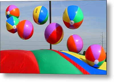 School Field Day  Metal Print by Maureen  McDonald