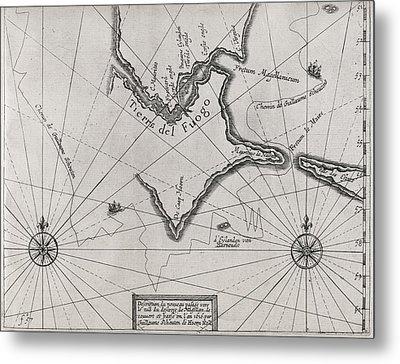Schouten Rounding Cape Horn, 1616 Metal Print