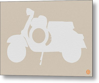 Scooter Brown Poster Metal Print by Naxart Studio