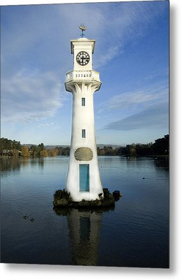 Metal Print featuring the photograph Scott Memorial Roath Park Cardiff by Steve Purnell