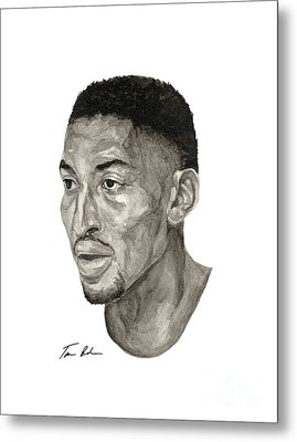 Scottie Pippen Metal Print