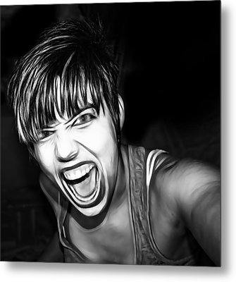 Scream 2 Metal Print by Tilly Williams