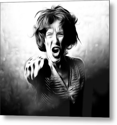 Scream Metal Print by Tilly Williams