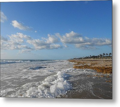 Sea And Sky Metal Print by Sheila Silverstein