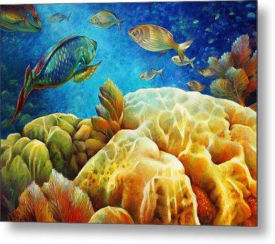 Sea Escape I - Color Queens Metal Print by Nancy Tilles