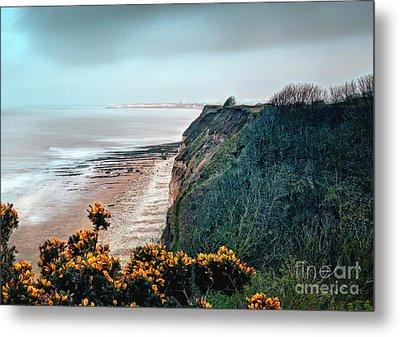 Sea Fret In The Twilight Zone Metal Print