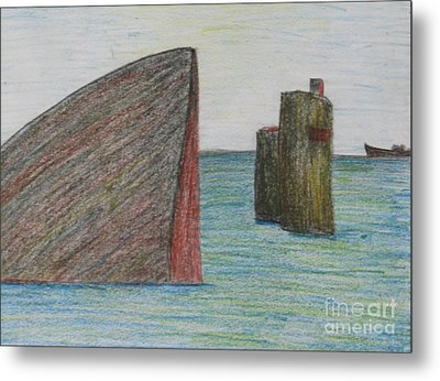 Sea Front Metal Print by Nedunseralathan R