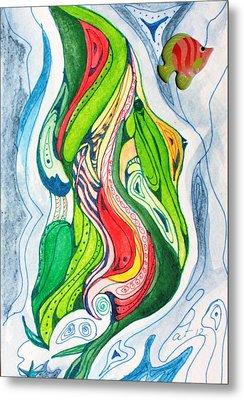 Sea Life Metal Print by Pat Purdy