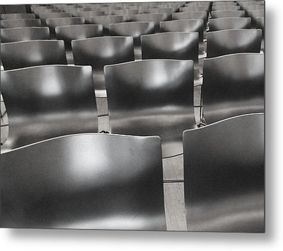 Sea Of Seats I Metal Print