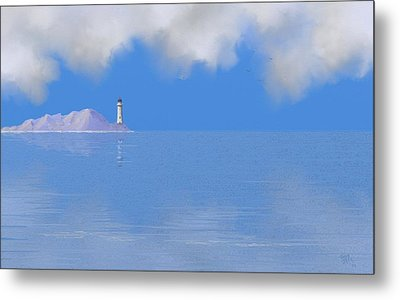 Sea Of Tranquility Metal Print by Tony Rodriguez