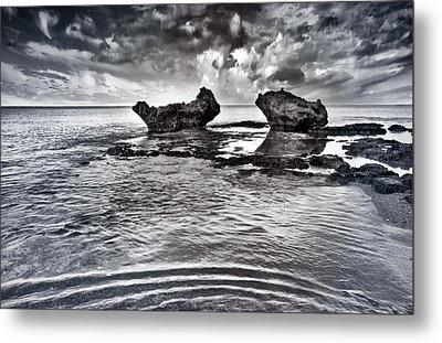 Sea Ripples Metal Print by Stelios Kleanthous