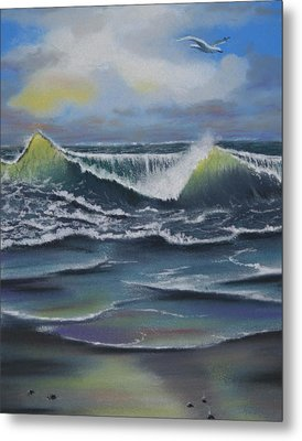 Seascape 3 Metal Print by Charles Hubbard
