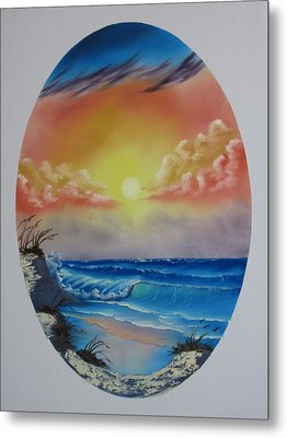 Seascape  Metal Print by Kevin Hill