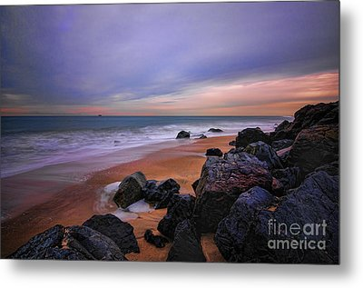 Seascape Metal Print by Paul Ward