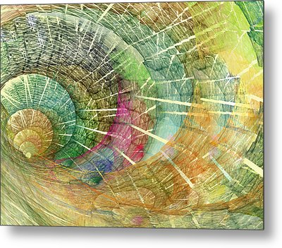 Season Of The Shell Metal Print by Betsy Knapp