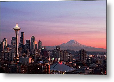 Seattle Metal Print by Aaron Morris