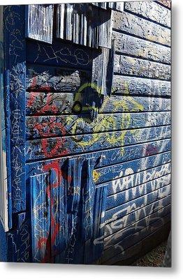 Seattle Graffiti Metal Print by Randall Weidner