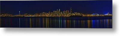 Seattle Moody Blues Metal Print
