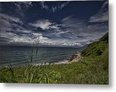 Secluded Cove Metal Print by Douglas Barnard
