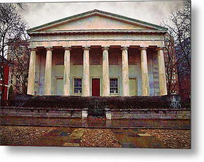 Second Bank Of The United States Philadelphia Pa Metal Print by Bill Cannon