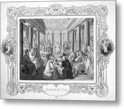 Second Council Of Nicaea Metal Print by Granger