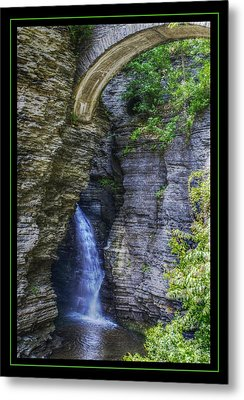 Secrets Of Watkin's Glen Metal Print by Matthew Green