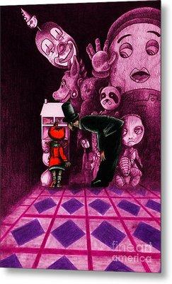 Secrets Metal Print by Spencer Bower