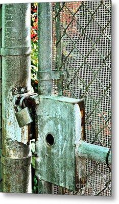 Secure Metal Print by Gwyn Newcombe